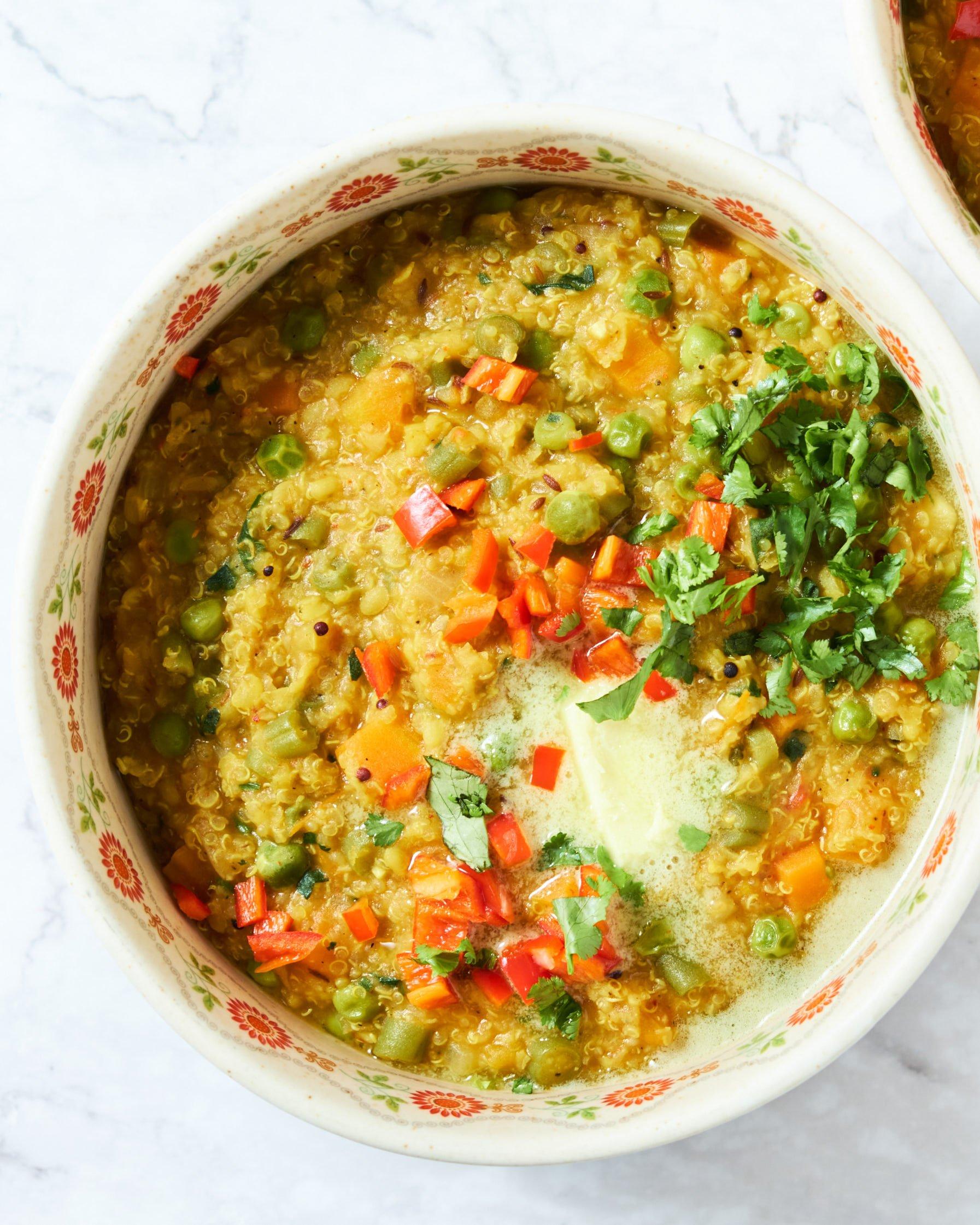 One Pot Quinoa Khichdi